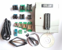VS4800 универсальный программатор Гал EPROM флэш 51 AVR PIC MCU SPI + SOP8 SOP28 tssop28 plcc44 32 28 20 гнездо + 12 адаптеры IC клип