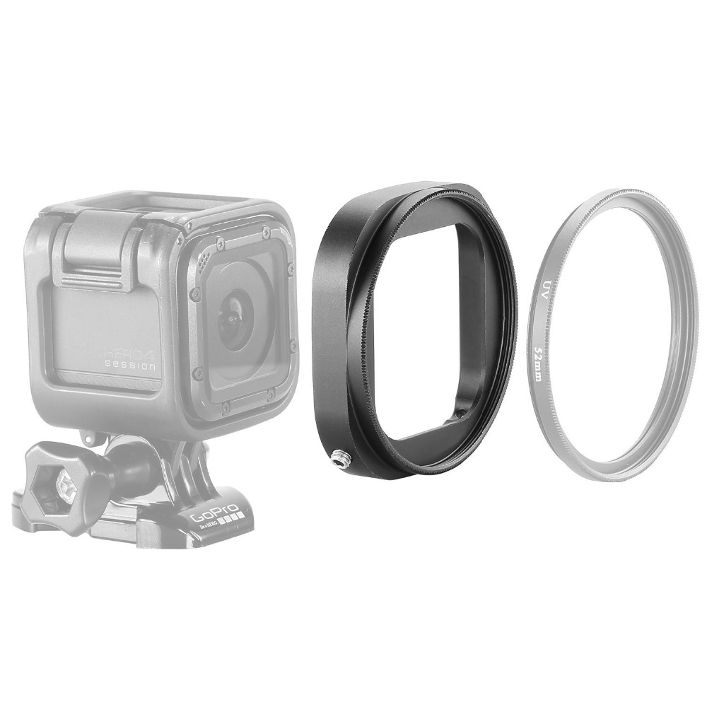 New 58mm Uv CPL Nd Lens Filter Adapter Ring for Gopro Hd Hero 3 Hero3 Only