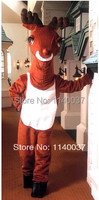 mascot Mild Reindeer Mascot Costume Mascotte Mascot Outfit Suit Fancy Dress For Halloween Christmas Birthday Party