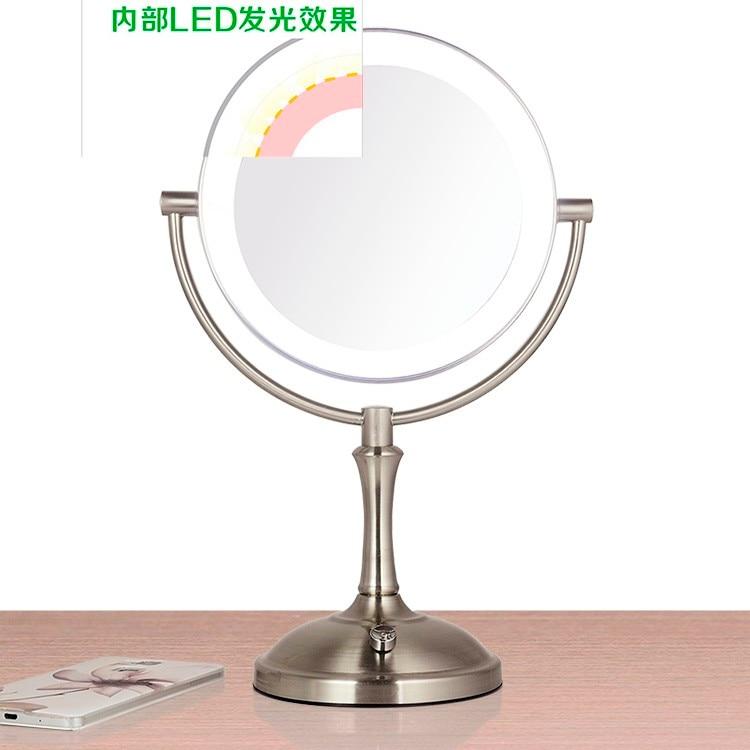 Toque dimmer LED maquiagem espelho iluminado espelho