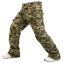 Новые Брюки для сноубординга, мужские профессиональные зимние лыжные штаны, теплые ветрозащитные водонепроницаемые лыжные брюки, уличные зимние брюки