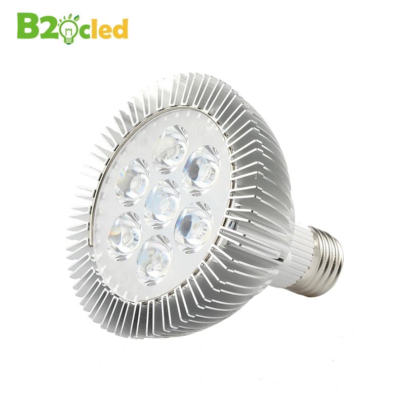 LED Grow Light E27 110V 220V AC 85-265V led Växttillväxtlampa Frukt Grönsaker Växter Röd Blått Ljus 3w 5w 7w 9w 12w 15w 18w