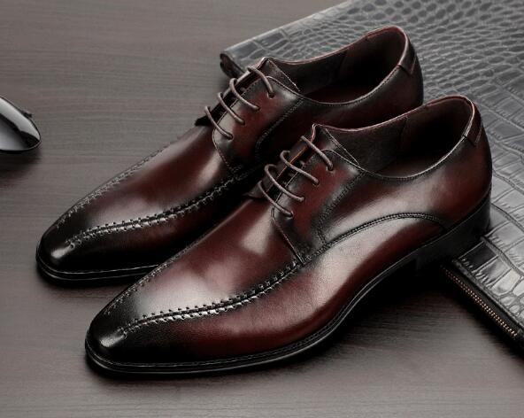 New business mens shoes square toe mens dress single shoes British mens leather shoes handmade mens shoesNew business mens shoes square toe mens dress single shoes British mens leather shoes handmade mens shoes