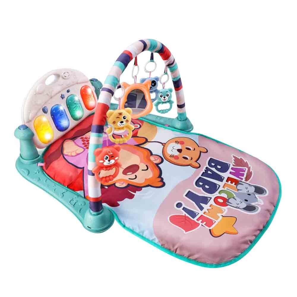 Bébé pied Piano Fitness cadre jouet Puzzle apaiser l'éducation précoce nouveau-né 0-1 bébé 3-6-12 mois bébé ramper activité tapis jouets
