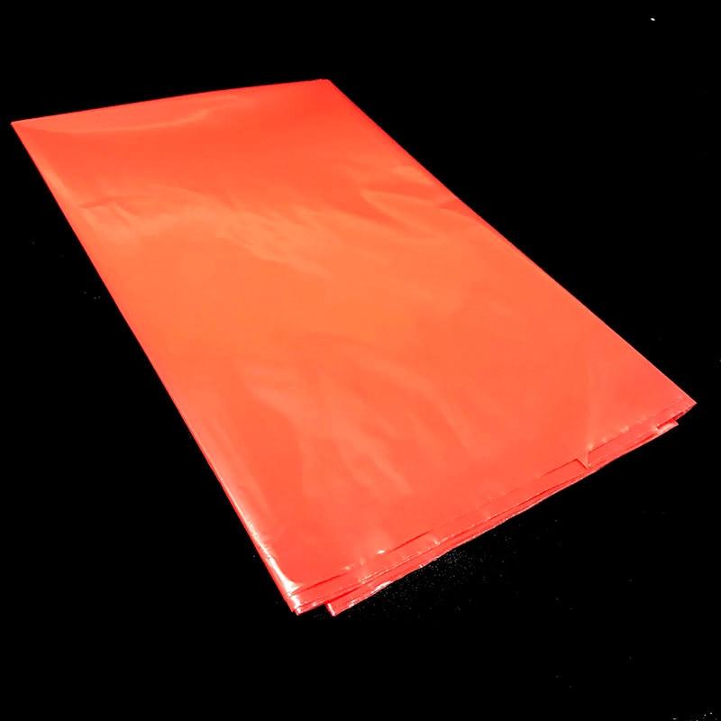 1 Pz/lotto 108 Cm * 180 Cm Colore Rosso Tema Tovaglie Pure Colors Copertura Di Tabella Di Plastica Usa E Getta Rosso Tema Di Plastica Tovaglie