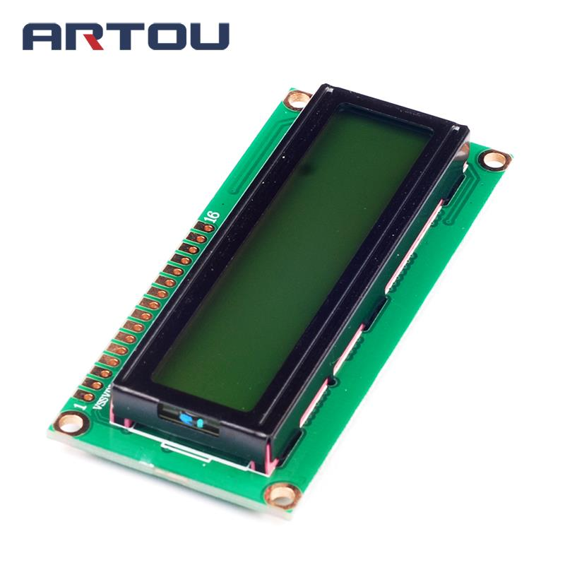 1PCS 1602 16*2 Character LCD Module Display 5V LCM with Yellow Green