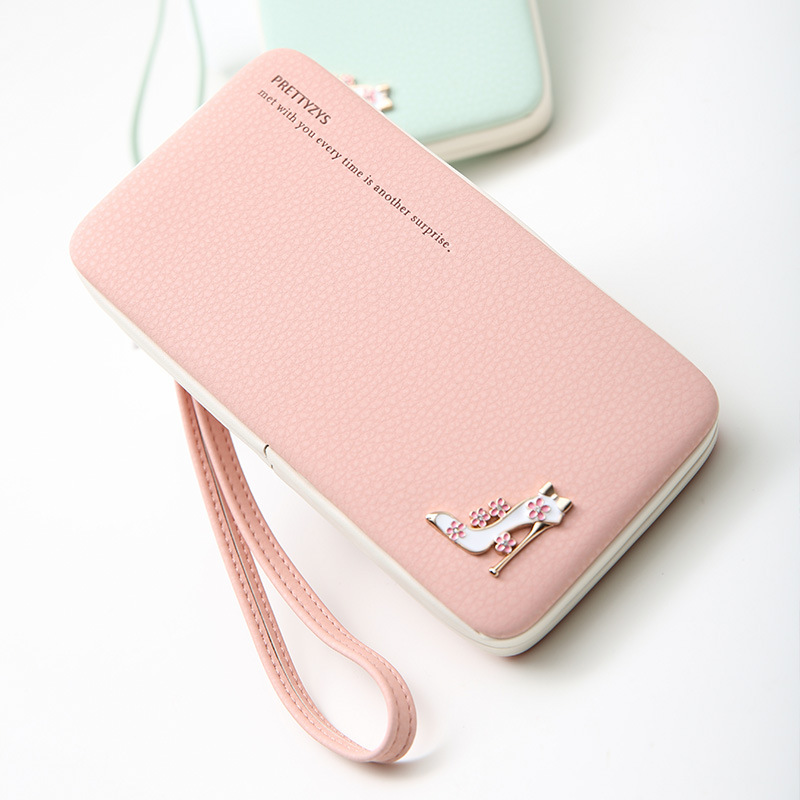 Luggage & Bags Cheap Sale Sw Fashion Wallet Women Clasp Wallet Leather Cellphone Pocket Wallet Female Small Card Holder Coin Purse Women Wallets G021
