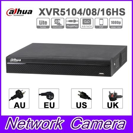 Оригинальный бренд XVR XVR5104HS XVR5108HS XVR5116HS 4/8/16 каналов пента-Брод 1080 P Lite компактный 1U цифровой видео Регистраторы