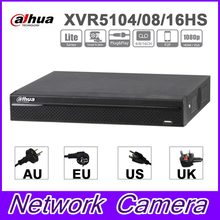 Original Dahua XVR XVR5104HS XVR5108HS XVR5116HS 4/8/16 Channel Penta-brid 1080P Lite Compact 1U Digital Video Recorder