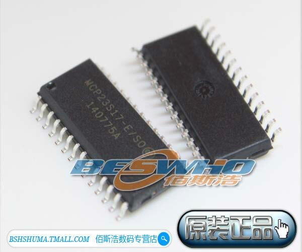 5Pcs MCP23S17-E/SO MCP23S17 SOP28