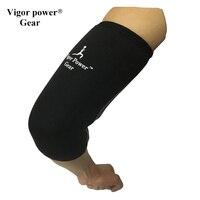 Бесплатная доставка Vigor Мощность Шестерни 7 мм Локоть рукава налокотники локоть поддержка для спорта, Фитнес, тепло, сжатия, восстановления