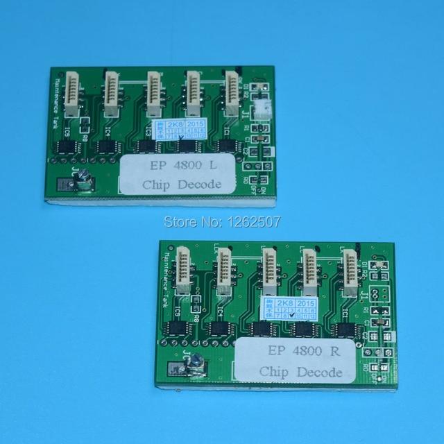 Universal ARC chip decoder For Epson Epson 4880 7880 9880 7450 9450 4450 Printer Ink Cartridge chips +Maintenance tank chips