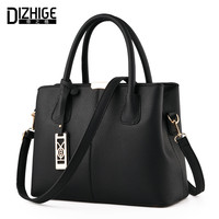 DIZHIGE Brand New Tote Bag Handbags Women Famous Designer Crossbody Bag Women Leather Handbag High Quality