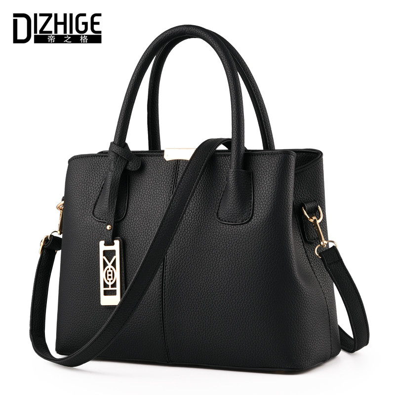 DIZHIGE Brand New Tote Bag Handbags Women Famous Designer Crossbody Bag Women Leather Handbag High Quality Sac A Main Femme 2017 printed letters handbags new hot brand women small tote bag hand bag famous designer high quality handbags sac main femme bolsas