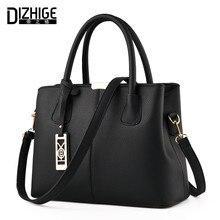 Dizhige nuevo bolso de mano bolsos de las mujeres famosas crossbody diseñador bolso de Cuero de Las Mujeres Bolso de la Alta Calidad Femme Sac A Principal 2017