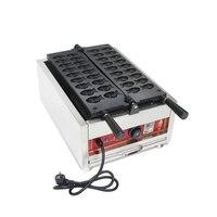Promo Envío Gratis eléctrico 18 piezas/placa Mini Taiyaki máquina de hacer gofres de peces dorados