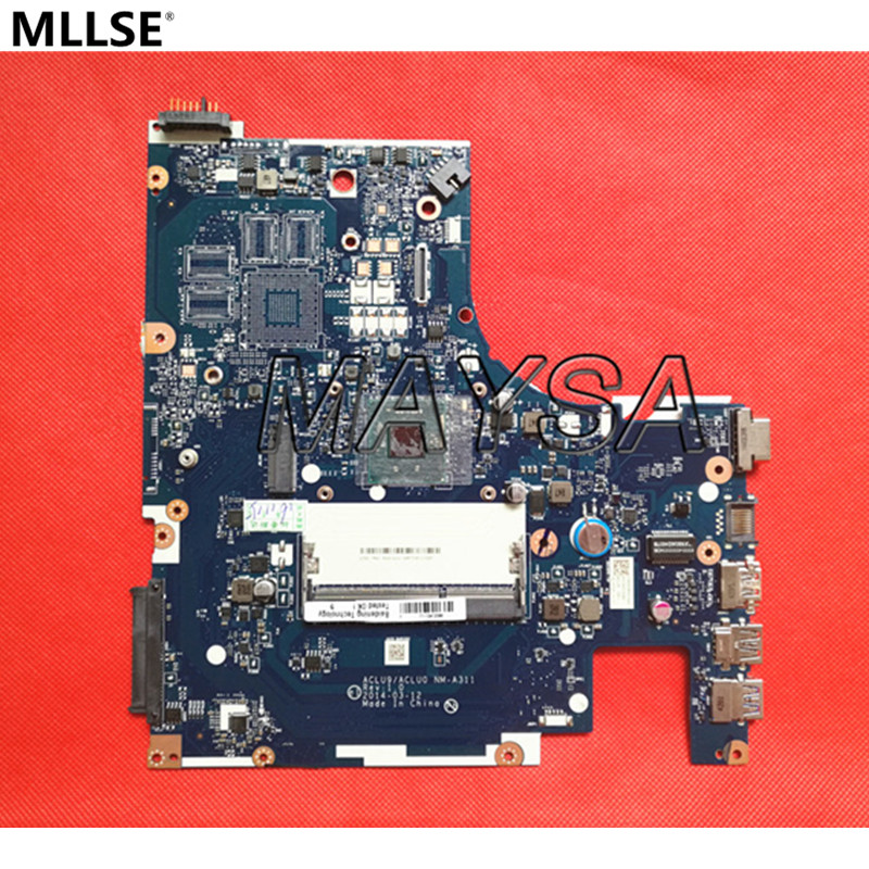 Hot IN RUSSIAN G50 30 Laptop Motherboard Fit For Lenovo ACLU9 ACLU0 NM A311 MAIN BOARD