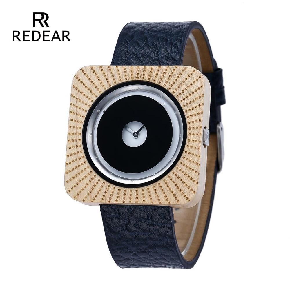 REDEAR Zegarki Bambusowe zegarki dla mężczyzn Kobiety Zegarki - Zegarki damskie - Zdjęcie 1