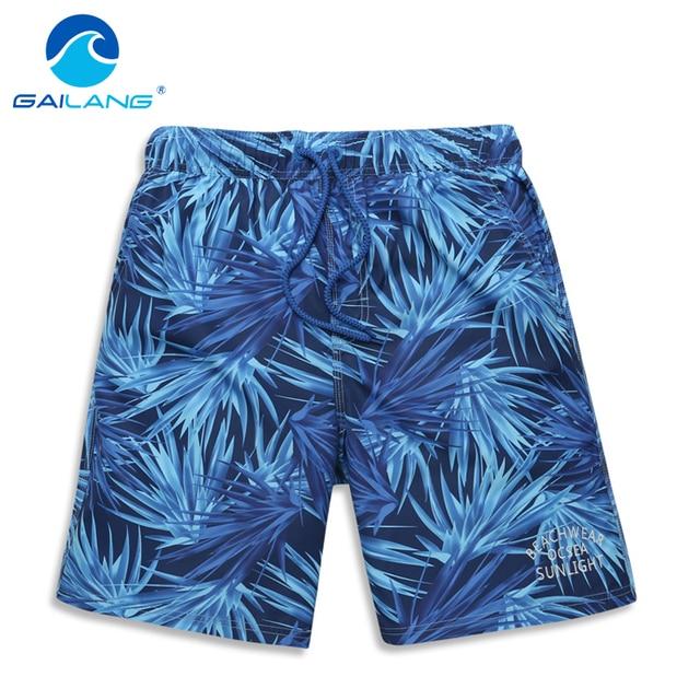 Gailang Brand Qick Dry Men Beach Shorts Trunks Boxers Swimwear Swimsuits Mens Board Shorts Casual Shorts Bermuda Jogger Big Size
