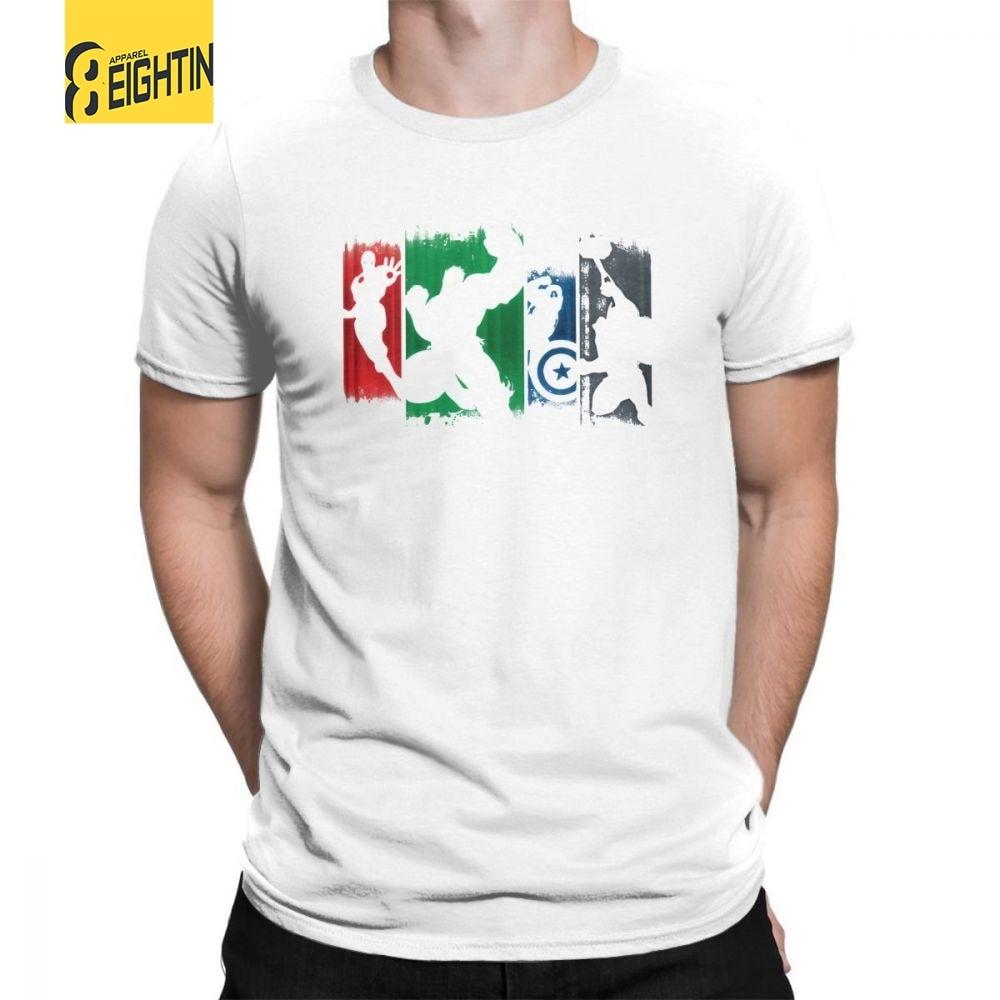 Batman T-Shirts 100% Cotton New Arrival Super Hero Tee Shirt Short Sleeved Round Neck Marvel Movie T Shirt Male Big Size Classic