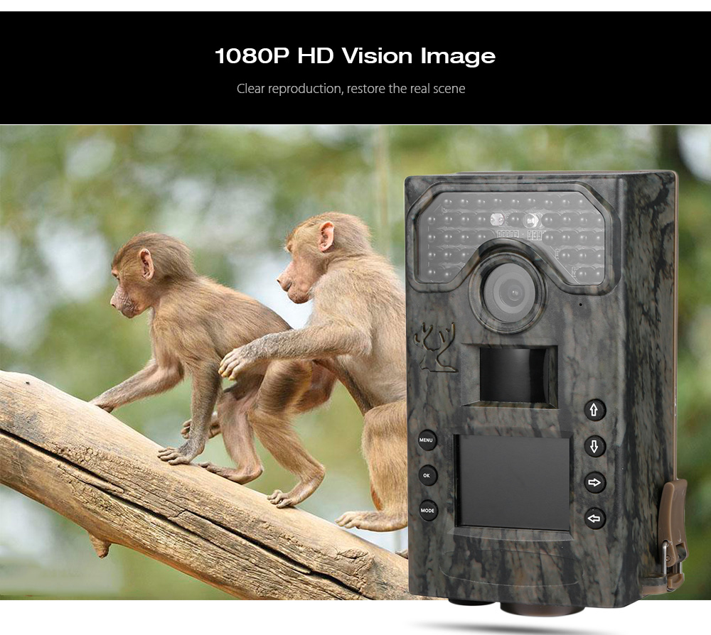 BL280A Hunting Camera 3MP 1080P HD 940nm Low Glow Infrared Digital Trail Hunting Camera Wildlife Scouting Camera