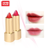 XIMIVOGUE 2018 Hot Beauty Lipstick Long lasting Waterproof Lipsticks Easy To Wear Professional Cosmetic for Makeup Lips Batom