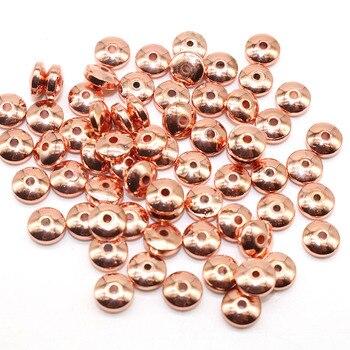 Black Hematite Gall stone Spacer Loose Beads Handmade For charm Jewelry Making 5