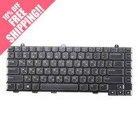 RU 러시아어 델 외국인 M11X M14X R1 R2 M18X M17X는 R3 R4 M15X는 백라이트 노트북 키보
