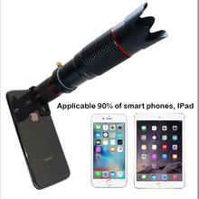 Bluetooth Zoom Telescope Mobile Phone Lenses Universal 4K HD 36X Single Focus Optic Lens For iPhone samsung huawei Camera