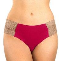 10 PC Patchwork Panties Women Briefs Solid Color Lace Stitching Briefs Lace Briefs