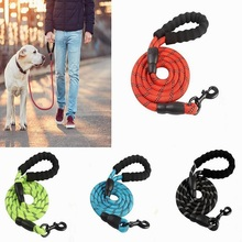 Reflective Large Dog Leash Nylon Rope Pet Running Tracking Leashes Long Lead Dog Mountain Climbing Rope for Medium Large Dogs meike mk mt24 macro twin lite speedlight flash for nikon d3100 d3200 d3300 d3400 d5000 d5300 d5500 d7000 d7100 dslr cameras gift