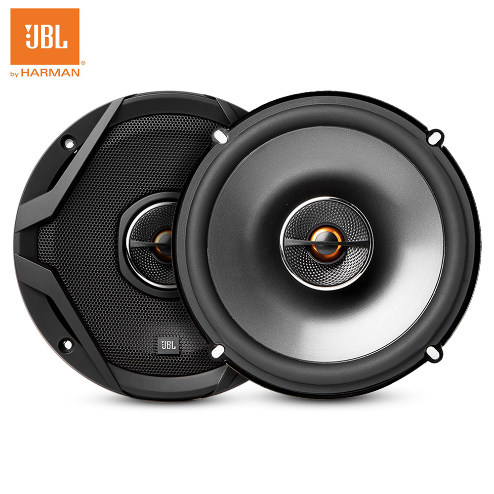 JBL GX602 Car Speaker 6.5 inch Hi-Fi Sound Quality Professional Coaxial Speaker System Two-way Tweeter Subwoofer for Car Auto hifine hi 520d 28mm tweeter component speaker for car audio system black pair