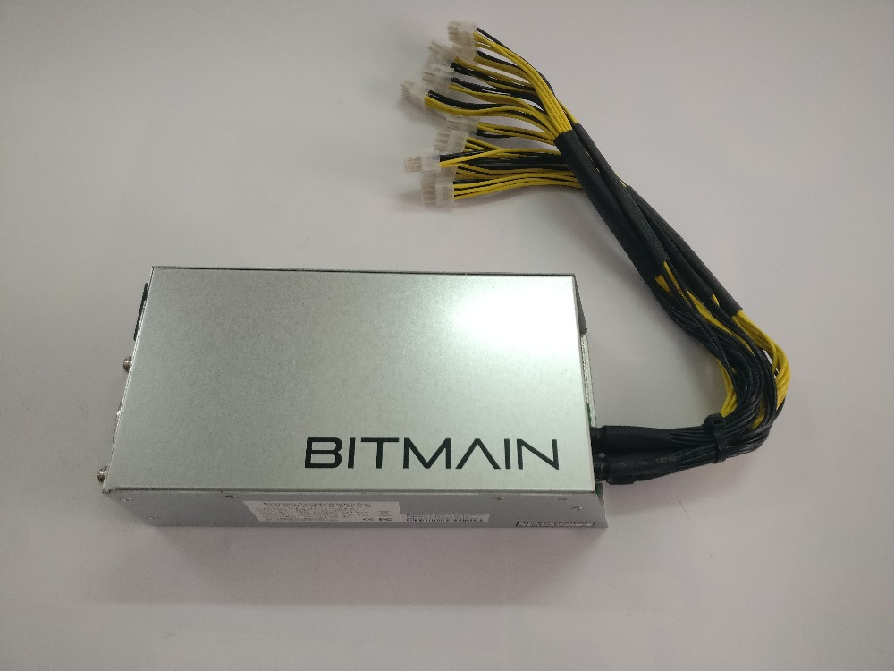 Utilisé Bitmain APW3 + + 1600W Alimentation Pour ANTMINER S9 S9i S9j L3 + D3 T9 + E3 Z9 Mini DR3 Innosilicon A9 A10