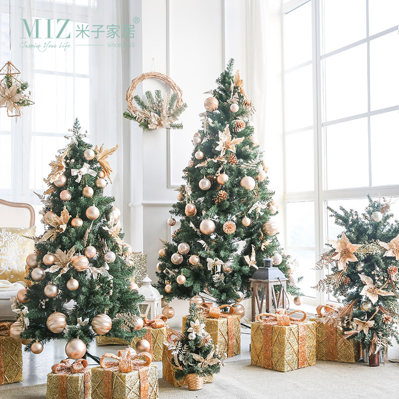Buy miz 1 piece christmas tree 2018 new for House decoration pieces