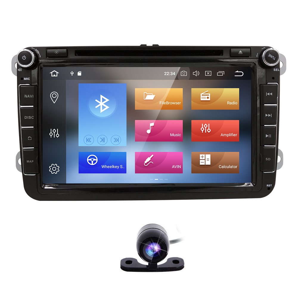 Autoradio 2 Din Android 8 0 Car Dvd For Volkswagen Vw Golf 5 Golf 6