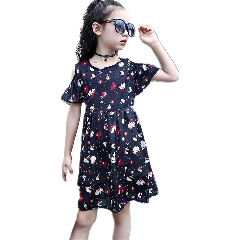 2017 New Arrival Girl Dress Clothing Princess ball gown Floral Bow Sleeveless Lolita Girls Dresses Party Dress Children Costume new arrival hot sale toddler princess girls sleeveless ball gown costume latin show fashion formal dancing dress