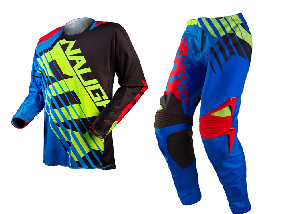 Free Shipping 2018 New Brand NAUGHTY 360 Savant Motocross Jersey/Pants MX DH ATV Off-Road Racing Set Downhill Dirt Bike Set scoyco professional motorcycle dirt bike mtb dh mx riding trousers motocross off road racing hip pads pants breathable clothing