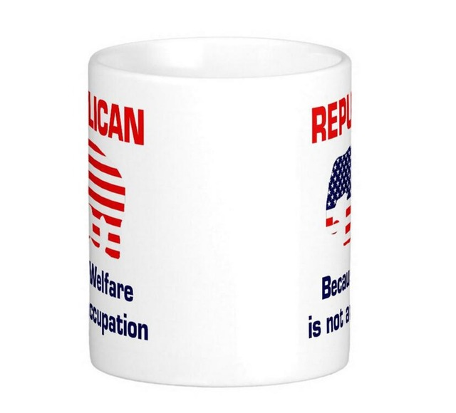 funny republican welfare classic white coffee mugs tea mug customize