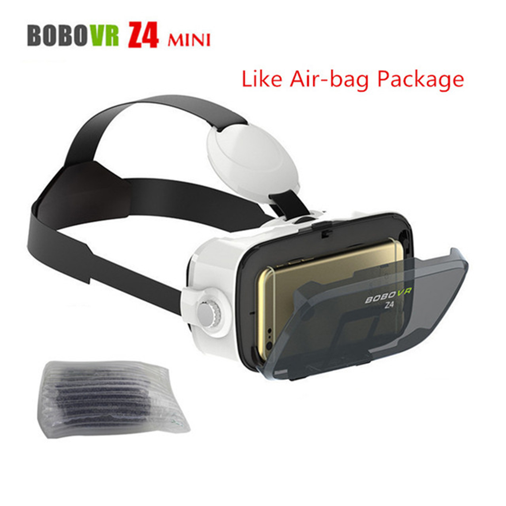 Universal Z4 3D Mini Virtual Reality Glasses Leather 3D Cardboard Helmet VR Glasses Headset Stereo Box Private Theater