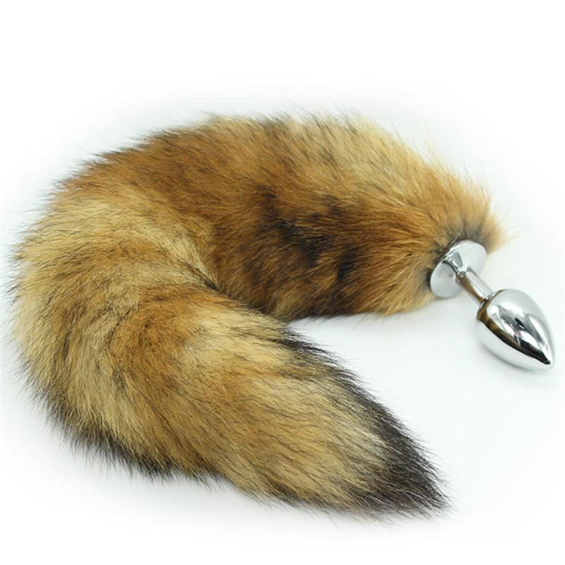 Akstore Wild Small Stainless Steel Fox's Tail's Anal Butt