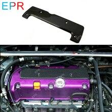 Для Honda EP3 DC5 углеродное волокно Свеча зажигания Крышка автомобиля Стайлинг запчасти тюнинг для Integra DC5 карбоновая крышка двигателя(все K серии подходят