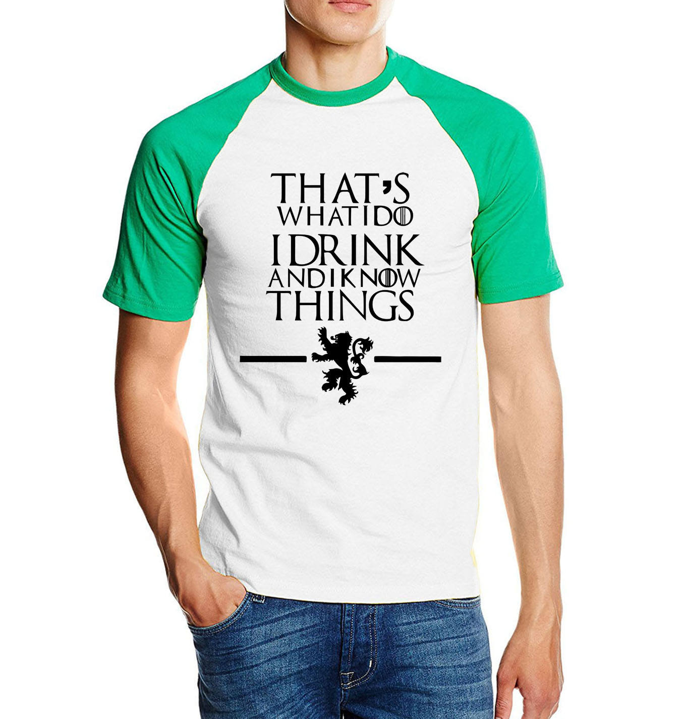 Game of Thrones T Shirt That's What I Do I Drink 4