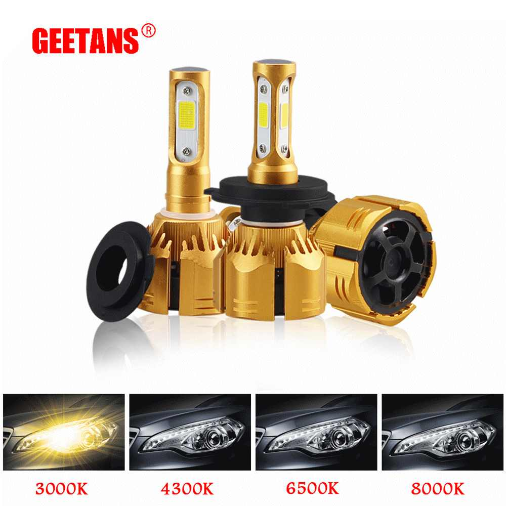 2pcs H7 LED H11 H4 H1 H3 9005 9006 H13 9004 9007 Led Car Headlight Bulb 6000K 60W 8000LM 8000K 4300K 3000K Auto Headlamp 12V