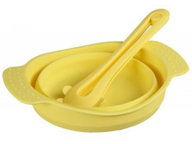 Набор для салата POMI DORO, Paletta, 14 см, желтый