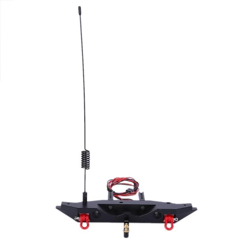 Rear Bumper Set Suitable for TRX 4 Rc4wd Axial scx10 RC Climbing Car Tool