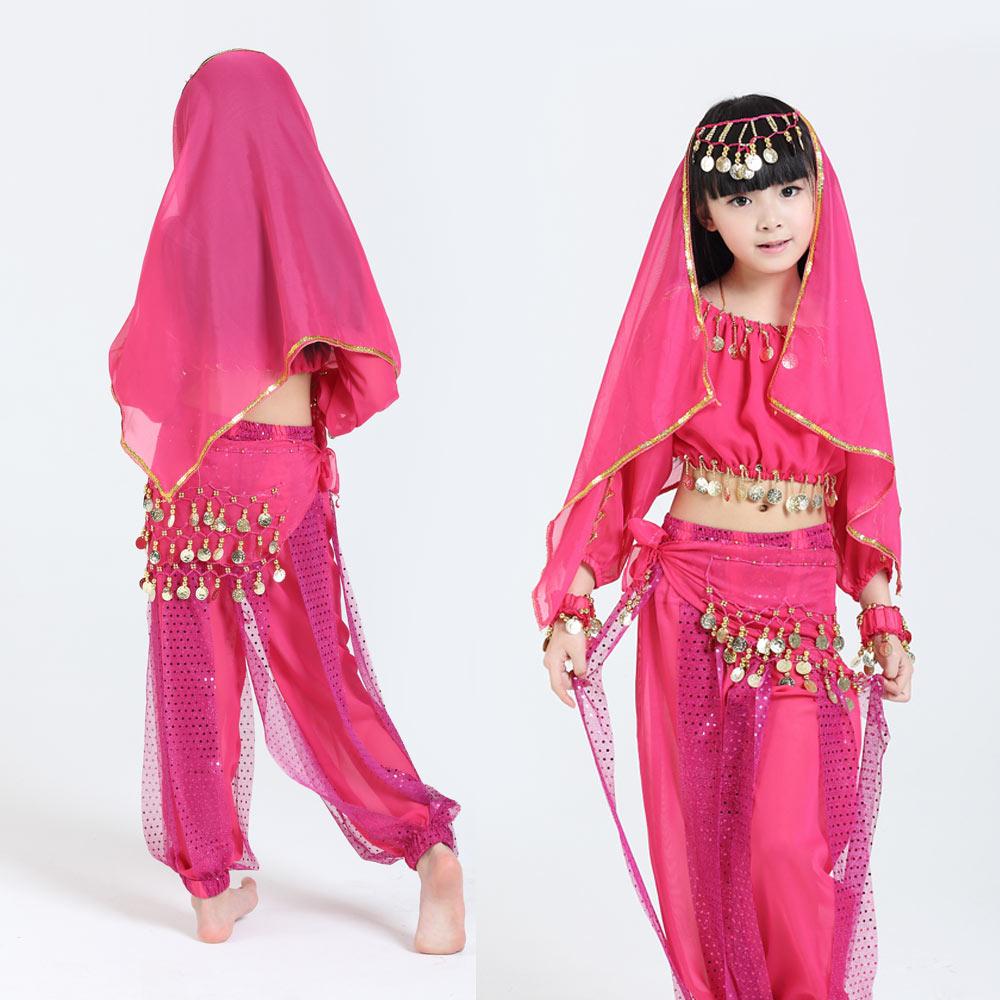 Novi ročno izdelani otroški kostumi za trebuh otroški trebušni - Odrska in plesna oblačila