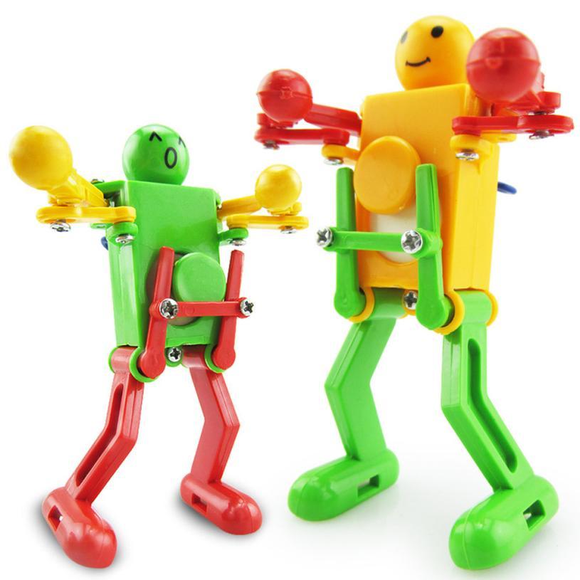 Clockwork Wind Up Dancing Robot Toy for Baby Kids Developmental Gift Puzzle Toys Z726