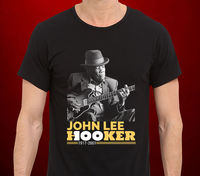 O Neck Hipster T Shirts John Lee Hooker Blues Legend Men S T Shirt