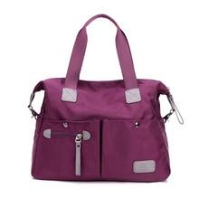 2017  Hot Sale  Nylon Waterproof Women Bolsa Messenger Bag Women's Travel Bags  Style Handbags   JIE-0365