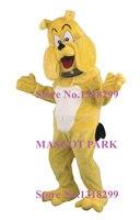 Mascot Бульдог bull dog Костюм с Воротником Взрослых Размер Мультфильм Pitbull Bull Собака Тема Аниме Косплей Костюмы Необычные Платья